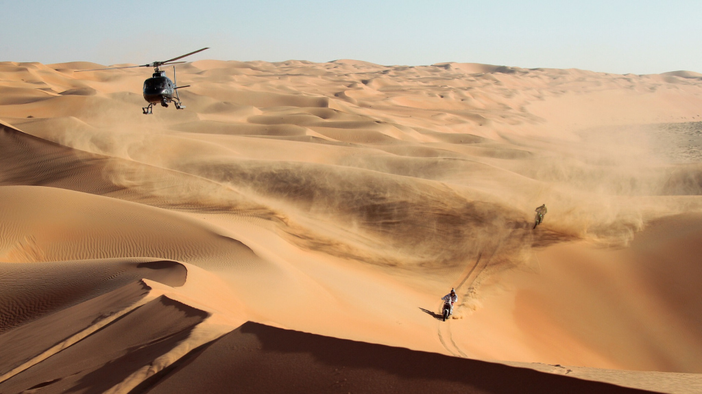 The Desert Challenge – one of the most demanding and well organised events in the FIA World Cup series.